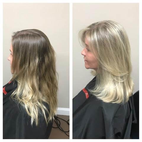 Maxx Studio Salon Haircut and Color Blonde