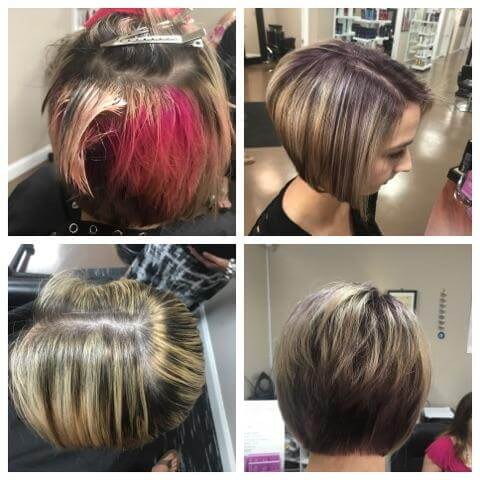 Maxx Studio Salon Haircut and Color Bob Wedge